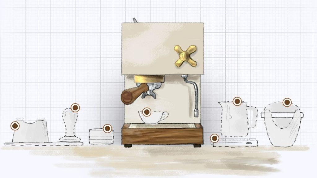 Tools for Home Espresso Station