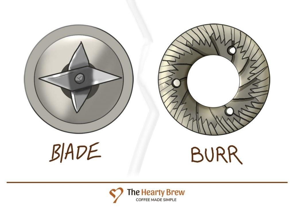a blade vs burr grinder