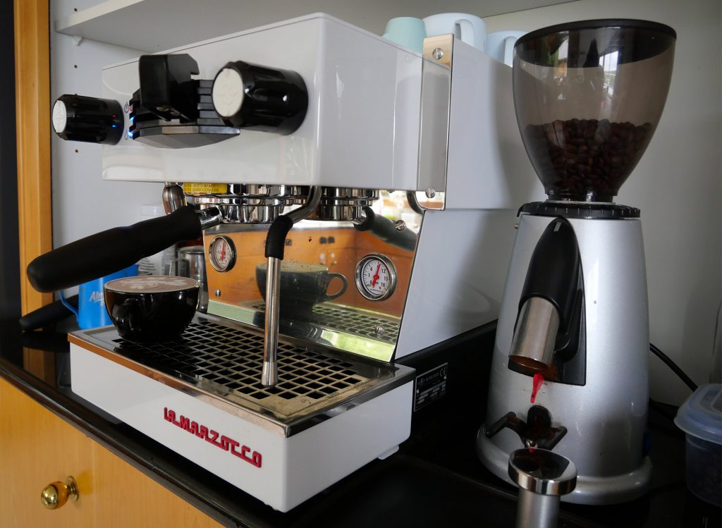 a La Marzocco home espresso machine