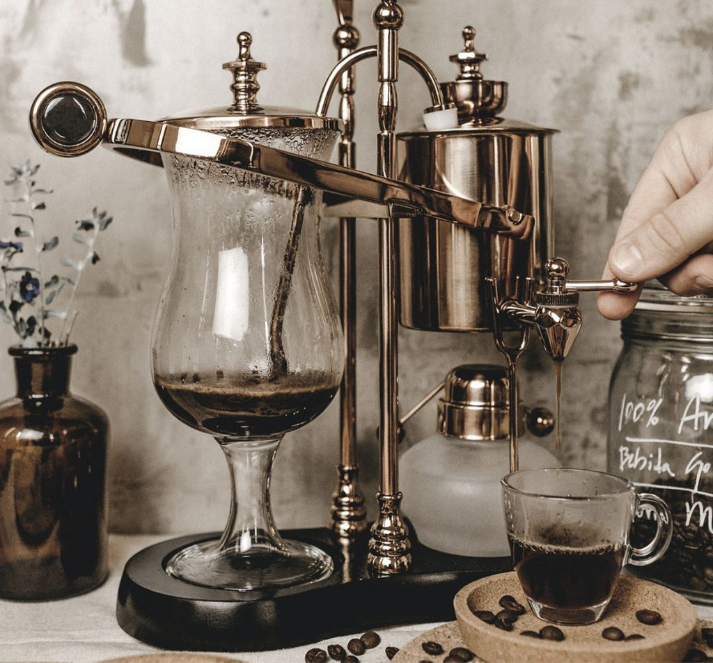 a siphon coffee maker