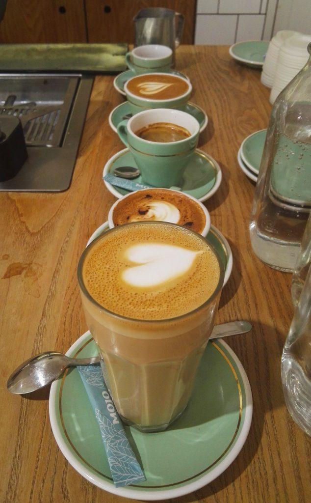 5 types of espresso drinks
