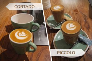 piccolo latte vs cortado